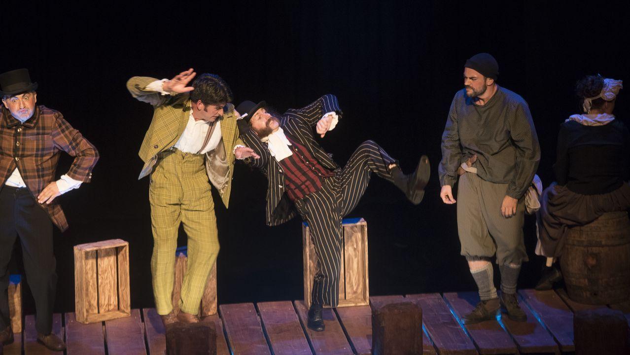 .«Ubu Rei», de Talía Teatro