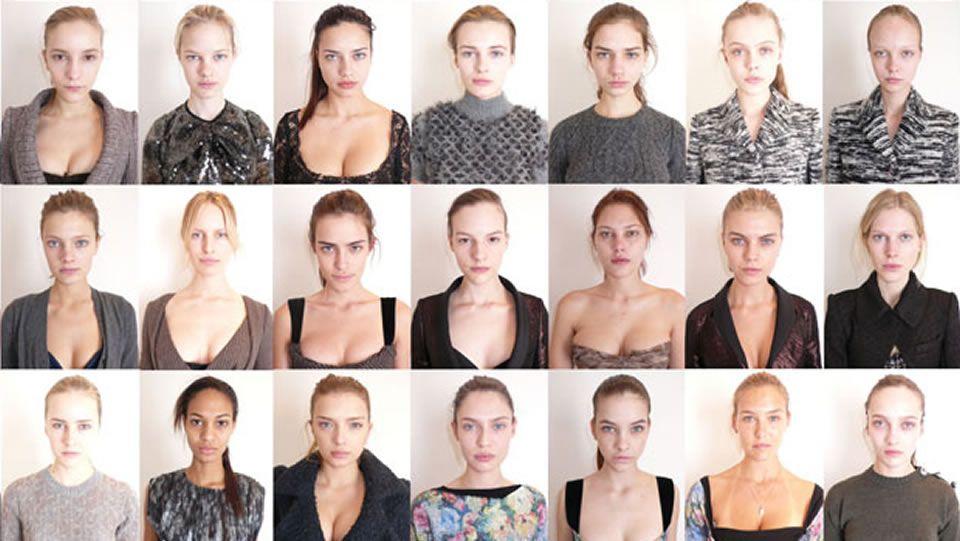 Campaña sin maquillaje.Chris Martin