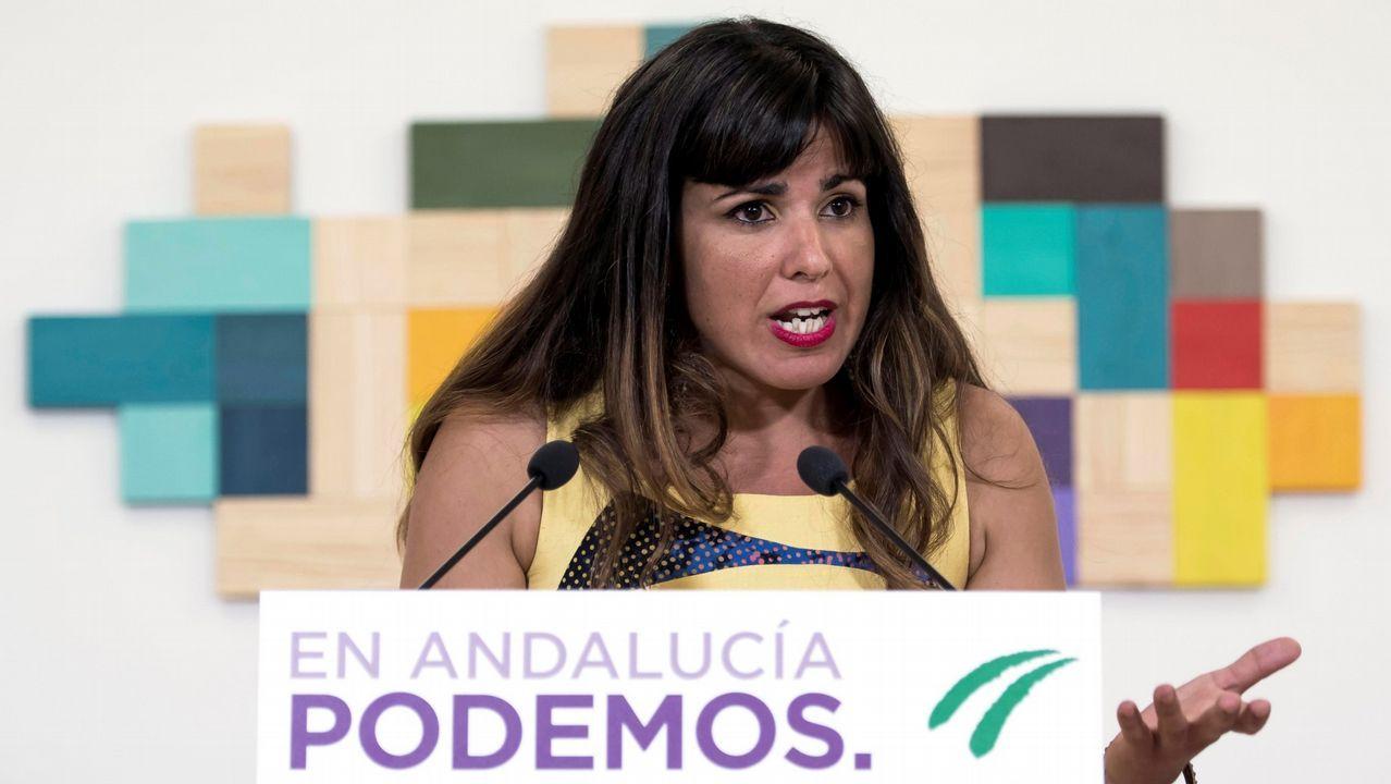 El PP y Ciudadanos presentan sus candidaturas mientras Susana Díaz pide frenar a la ultraderecha.Rodríguez dijo que no pactará con Susana Díaz