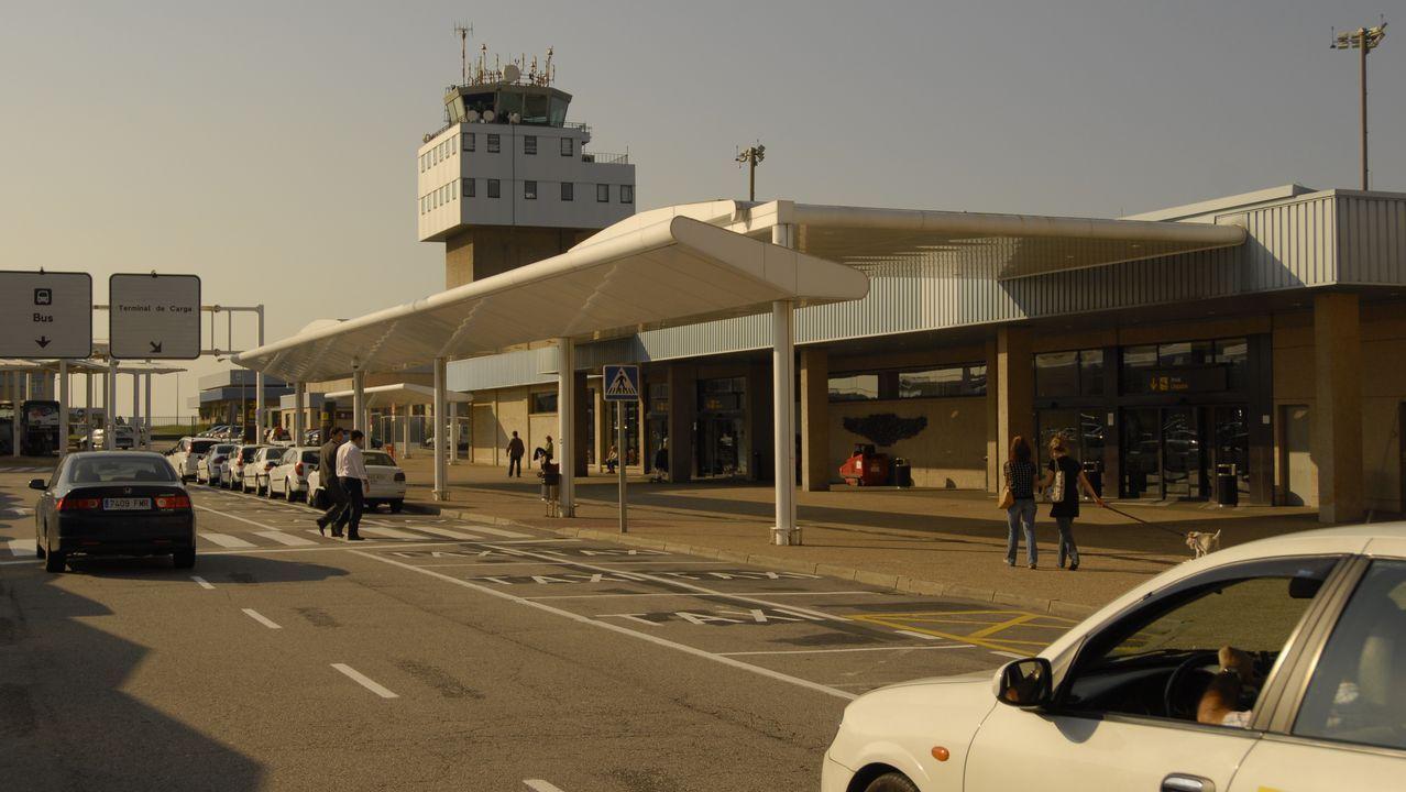 El aeropuerto de Asturias