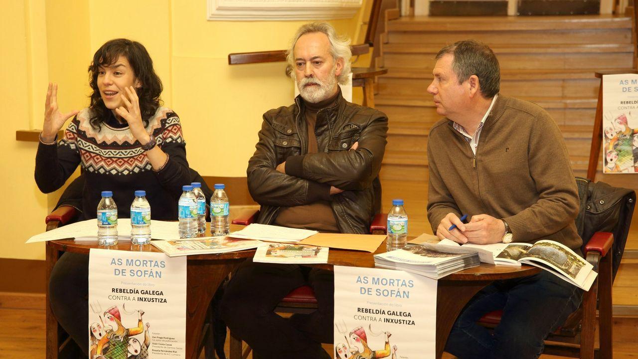 Presentación del libro «Rebeldía galega contra a inxustiza», con Xan Fernández Fraga, una memoria de las mártires de Sofán