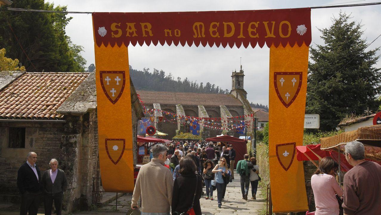 Así viviu Compostela o Día das Letras Galegas