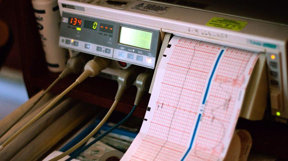 Una situación insostenible.Hospital Valle del Nalón