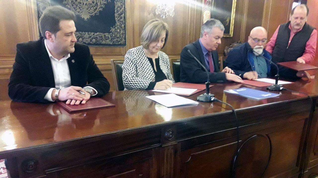 Concentración por las pensiones en Oviedo.Asociación de Mutualistas del Montepío de la Minería