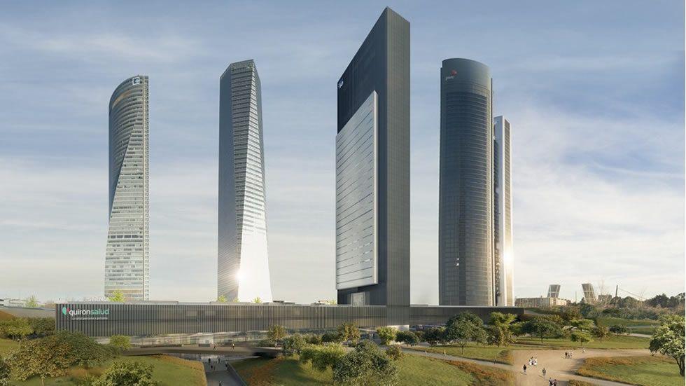 La quinta torre de Madrid se llamará Caleido y abrirá en 2019