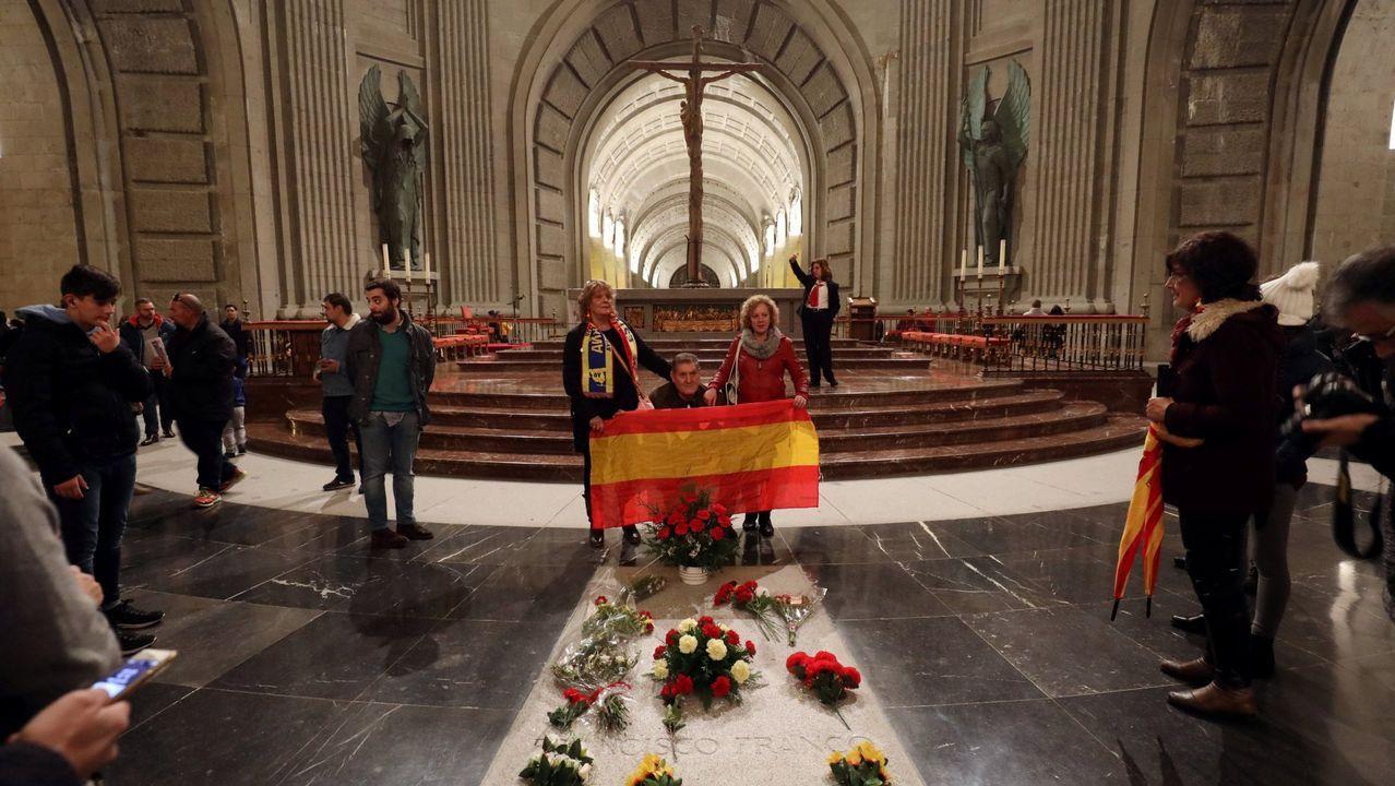 | REUTERS.El Valle de los Caídos, en el interior de cuya basílica descansan los restos de más de 33.400 víctimas de la Guerra Civil