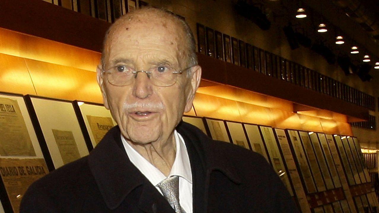 Fallece Gerardo Fernández Albor, el primer presidente electo de la Xunta.