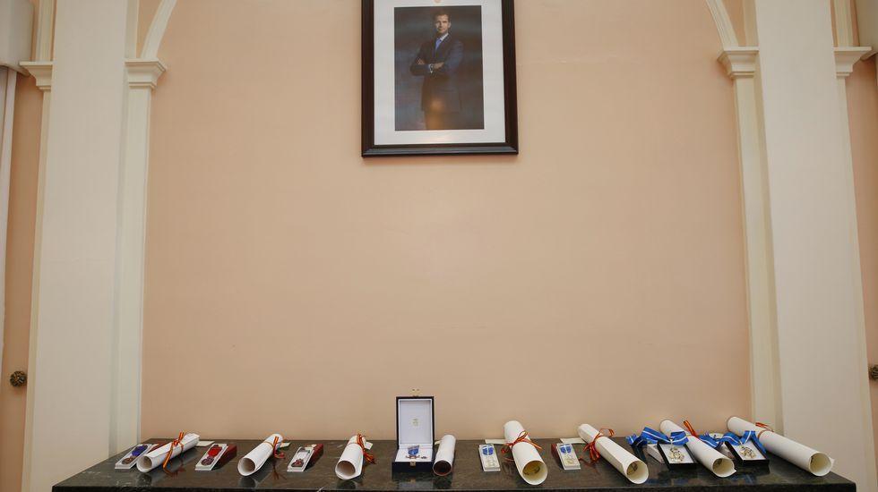 Pontevedra homenajea a la Constitución