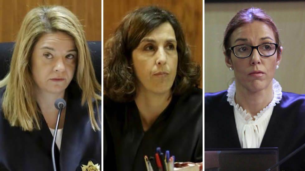 .Samantha Romero, Eleonor Moyá y Rocío Martín