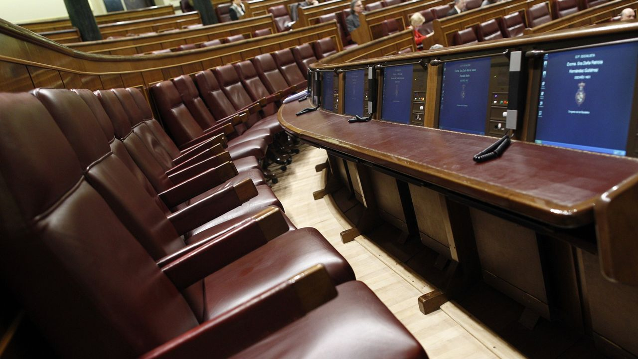 Vista general de la Eurocámara durante una sesión plenaria