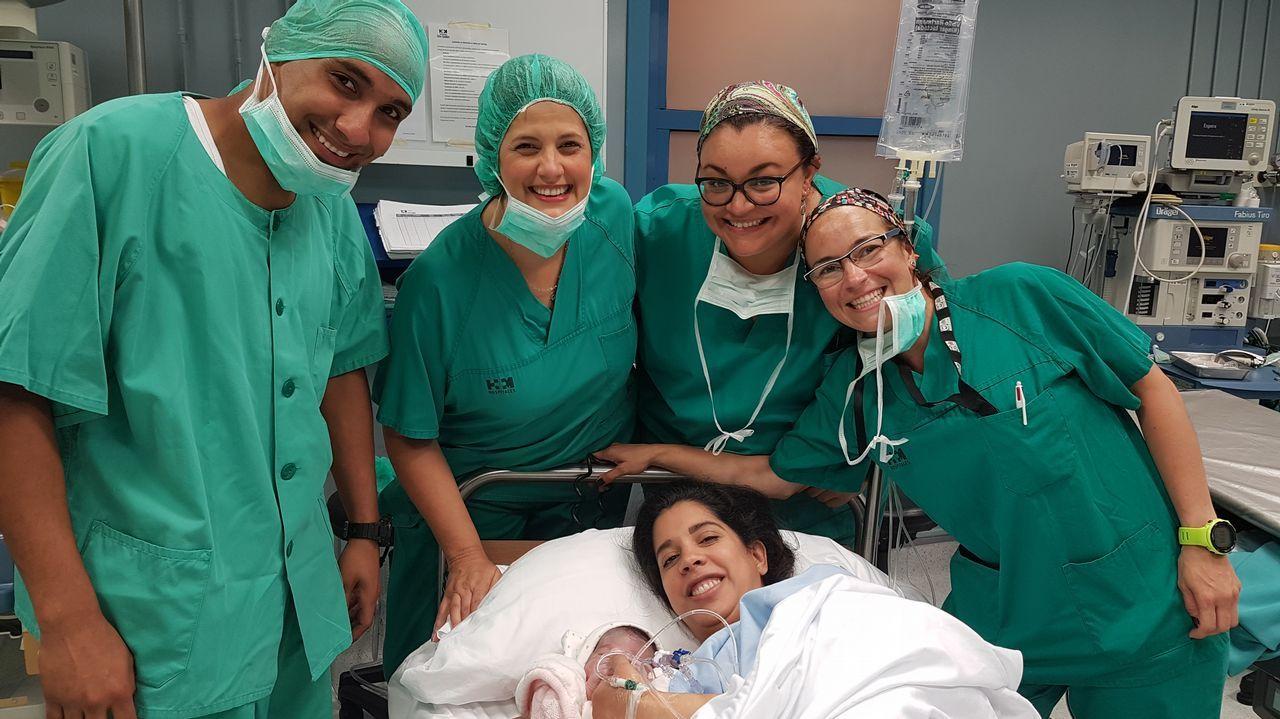 El parto que emocionó a Venezuela.