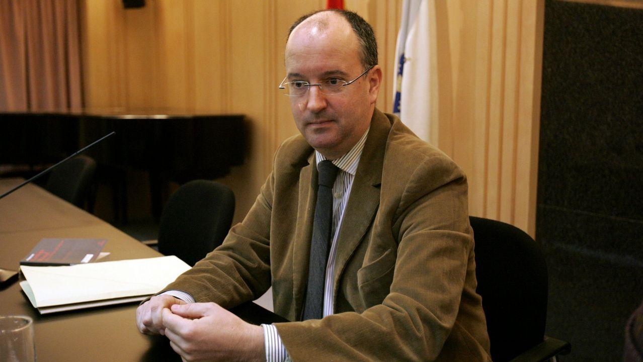 José Manuel Ucha es fiscal de menores en la Audiencia Provincial de Pontevedra