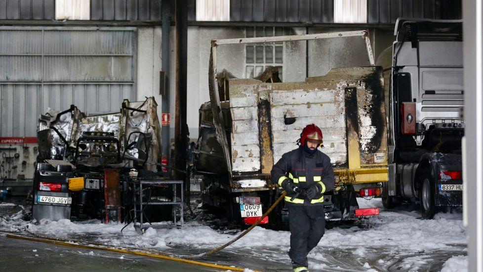 .Incendio en MAN en NV-I dentro