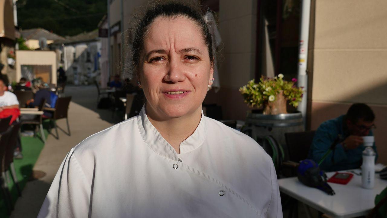 Eva López, del Complexo Xacobeo de Triacastela cuenta cómo el Camino sirvió para diversificar la economía en una zona rural donde la ganadería era la principal actividad