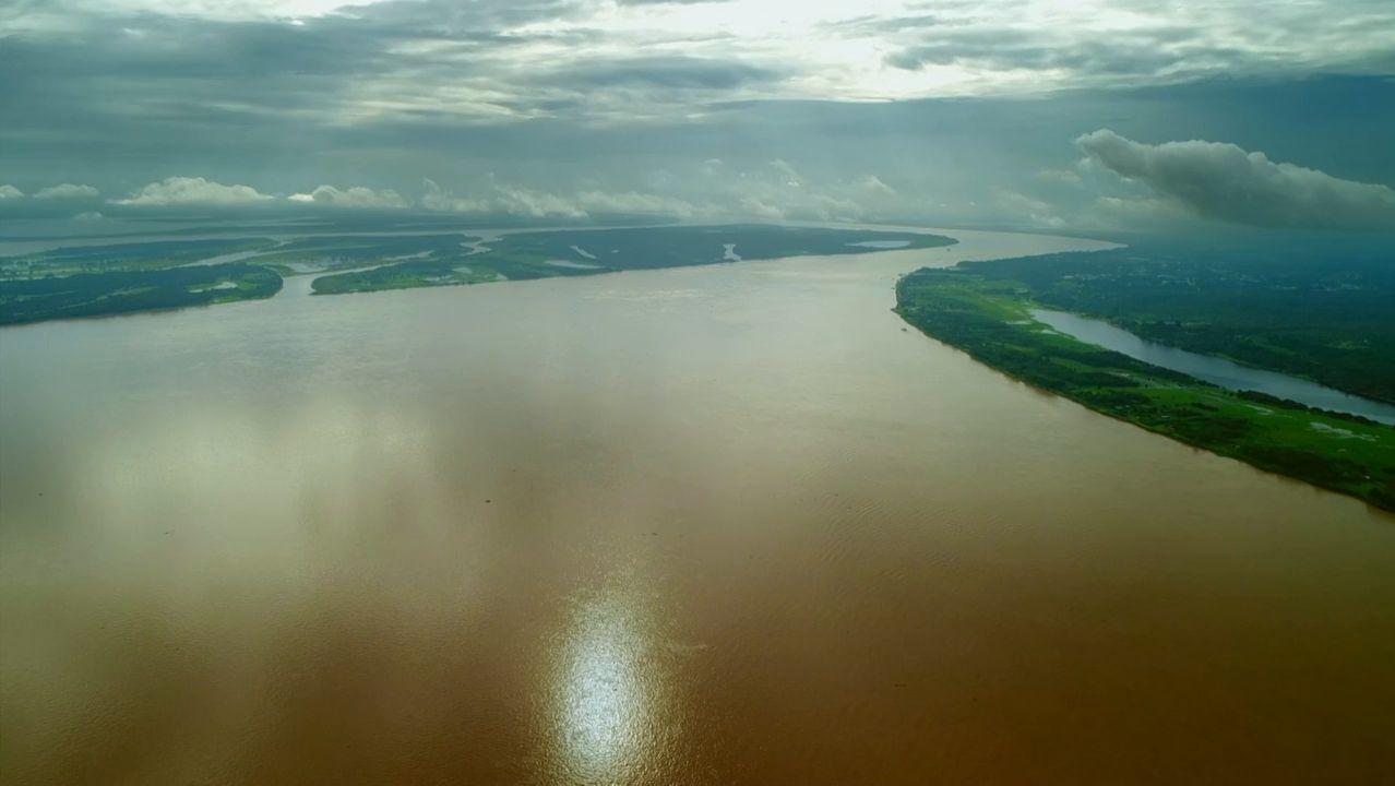 El Amazonas descarga cerca de 220 mil metros cúbicos por segundo al Atlántico
