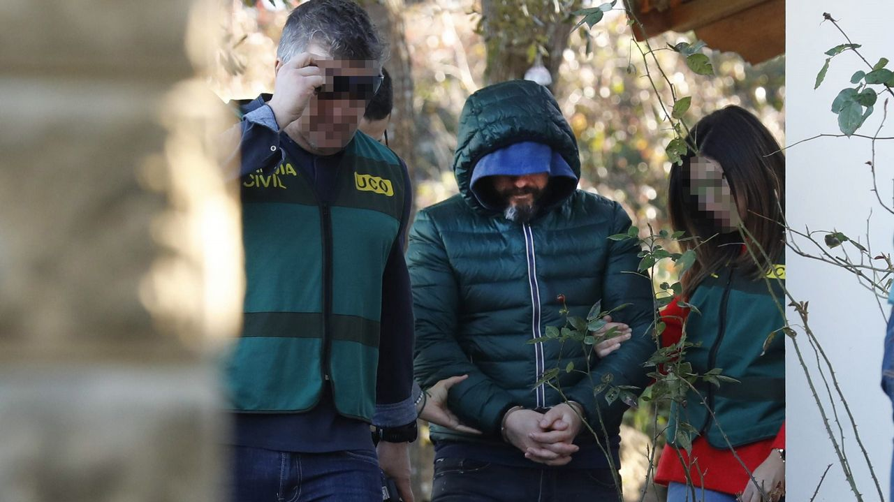 La Guardia Civil busca pruebas en la casa llanisca del presunto instigador de la muerte de Ardines.La plantación de marihuana en Burgos cuya instalación eléctrica fue presuntamente realizada por Pedro Nieva