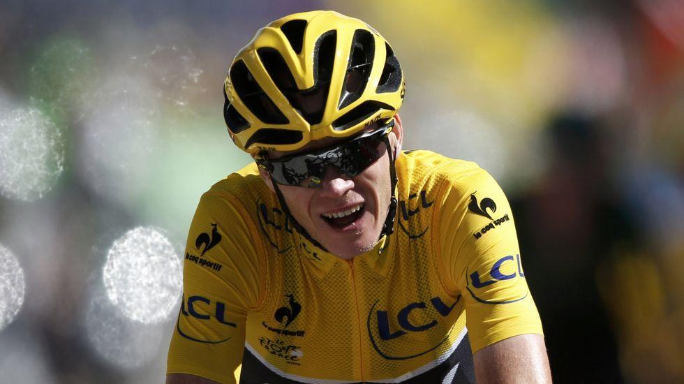 Contador se mostró feliz tras su triunfo en la Dauphiné.Froome agrede a un aficionado durante la etapa en el Tour