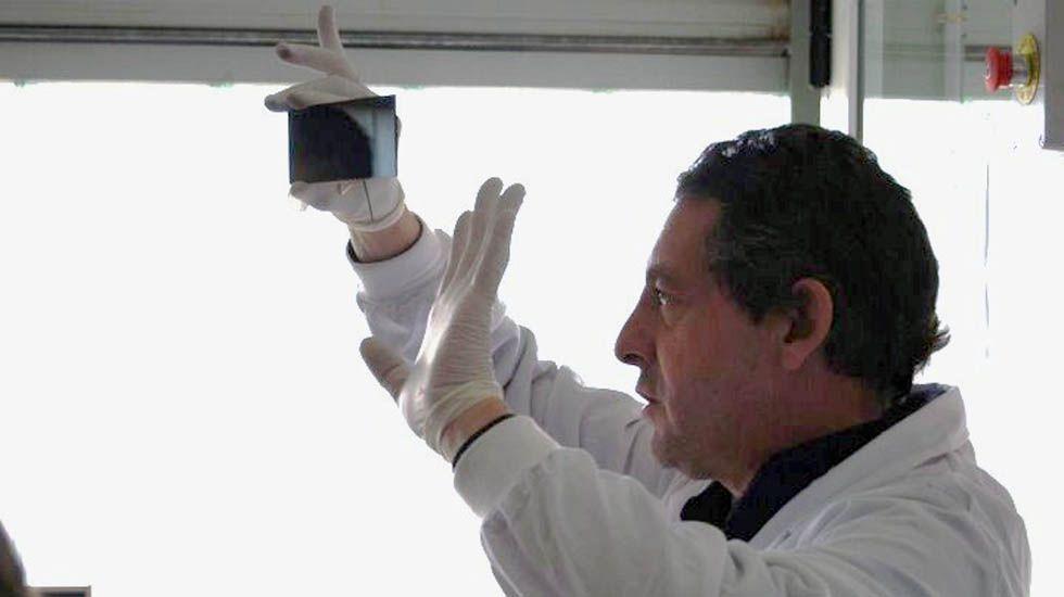 El científico Luis Andrés, del ITMA.El científico Luis Andrés, del ITMA