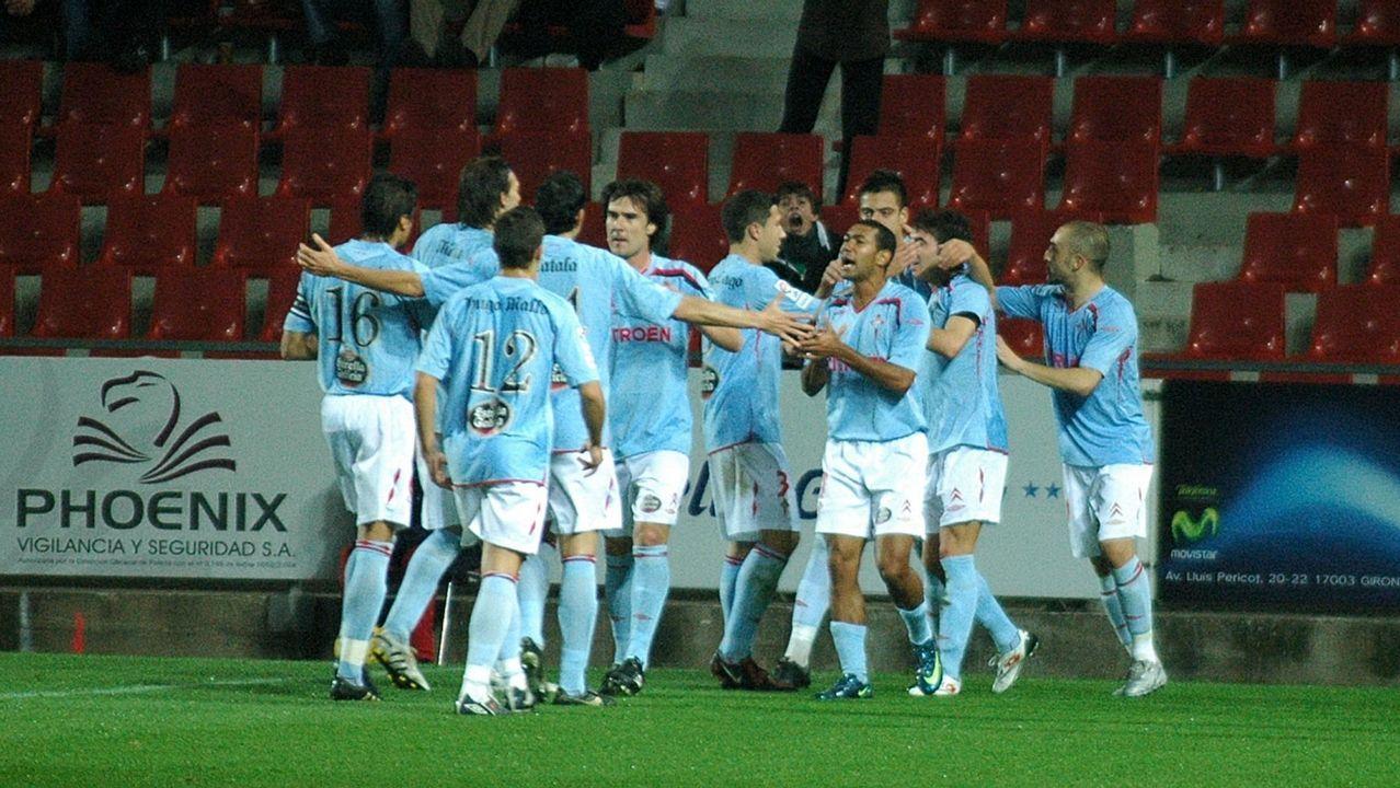 21 - Girona-Celta de (1-2) el 5 de diciembre del 2009