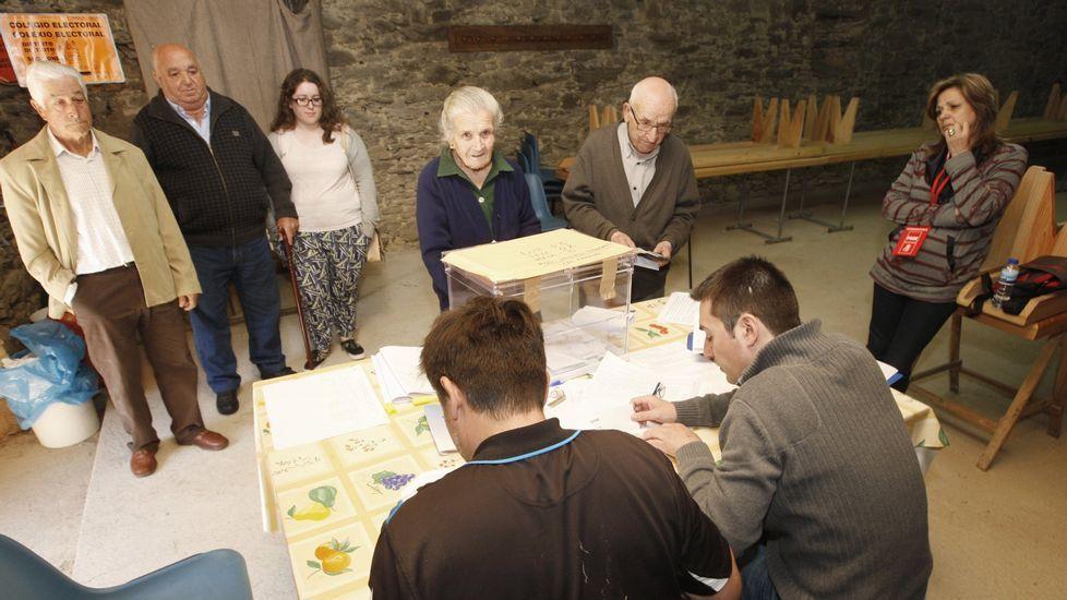 Las elecciones municipales del 2015 en la mesa electoral de Baamorto (Monforte)