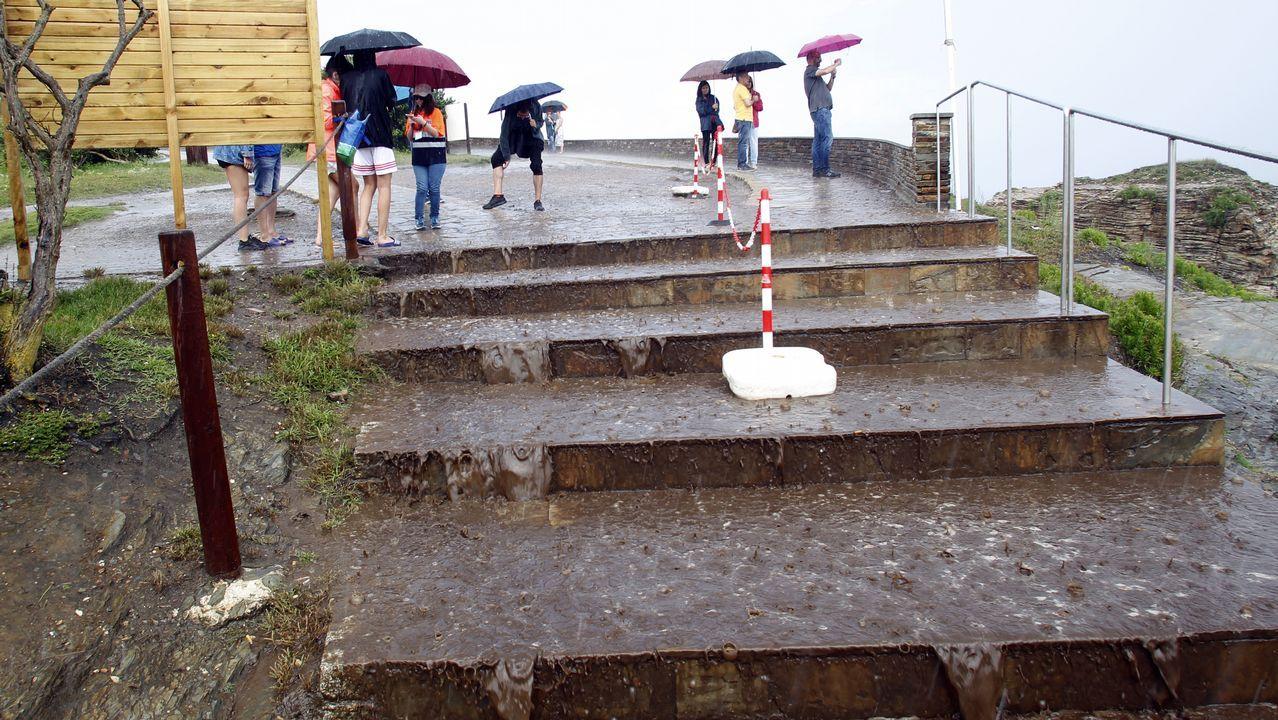 Inundaciones en A Coruña