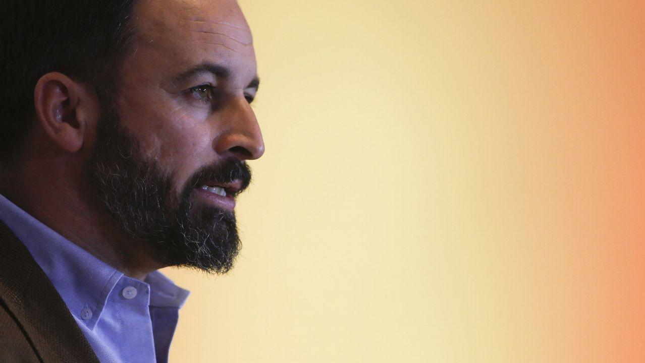 El líder de Vox en Andalucía y portavoz parlamentario, Francisco Serrano
