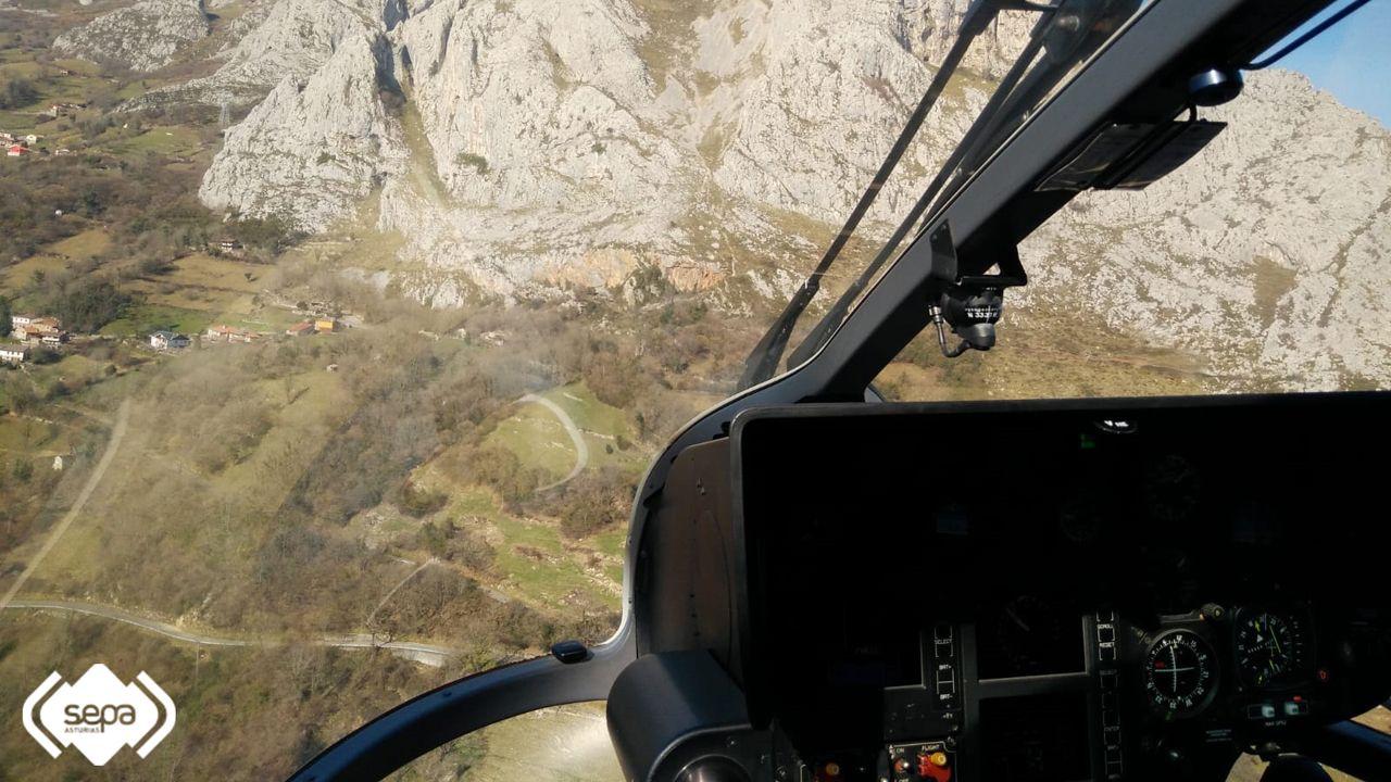 Una investigación matemática abre una esperanza contra el Párkinson.El helicóptero del Sepa rescató a un escalador herido en Morcín