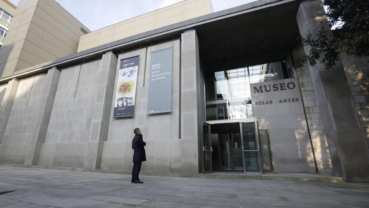Museo de Belas Artes en A Coruña