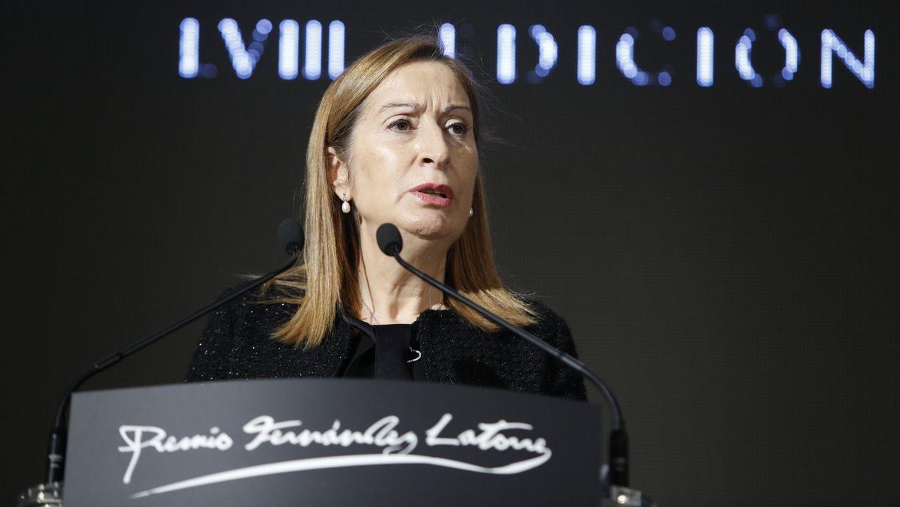 Ana pastor, presidente del Congreso