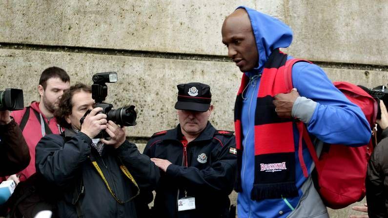 La ex estrella croata se sometió ayer a una auténtica rueda de prensa ante los chavales del CB.