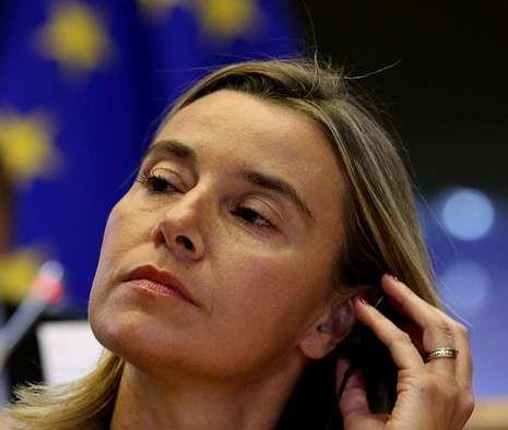 La italiana Federica Mogherini, nueva cara de la política exterior de la Unión Europea.