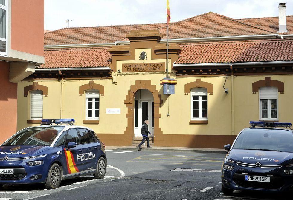 .Las dependencias de la Comisaría de Policía están situadas en la avenida de Vigo.