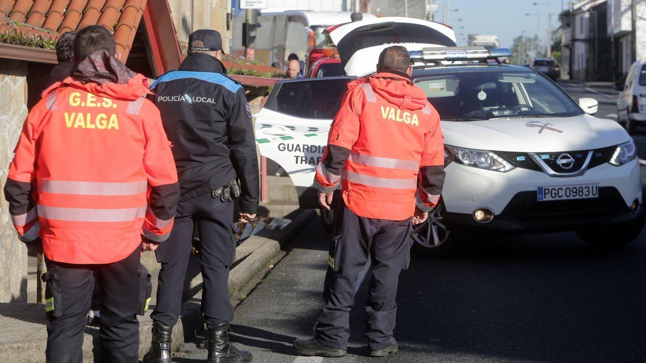 Examen de las oposiciones a celador del Sergas