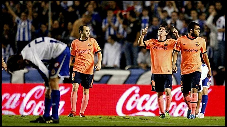 Diez años de Messi, en imágenes