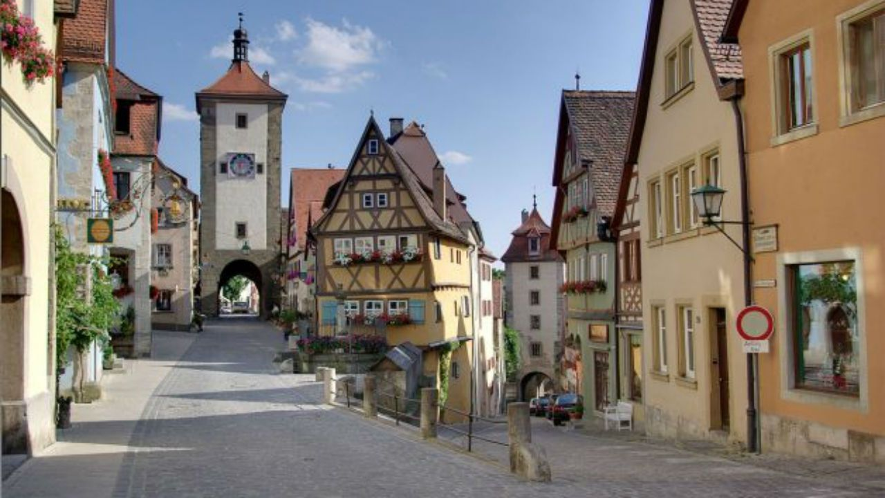 .Rothenburg ob der Tauber