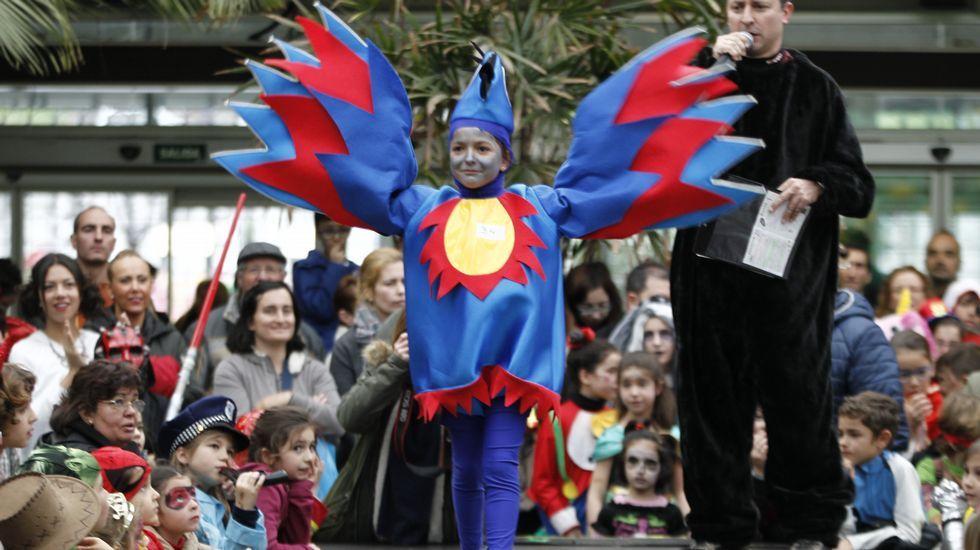 Concurso infantil de disfraces en Vigo