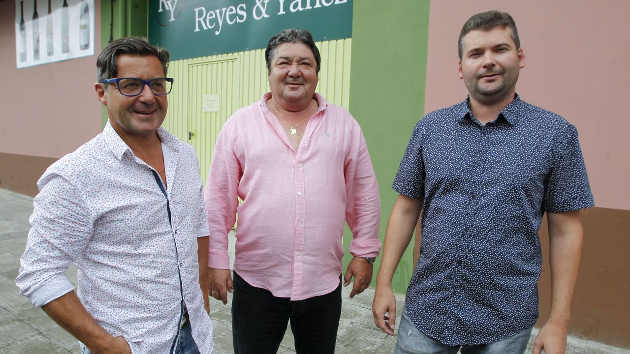Tres Yáñez: Fernando, Reyes y Gustavo