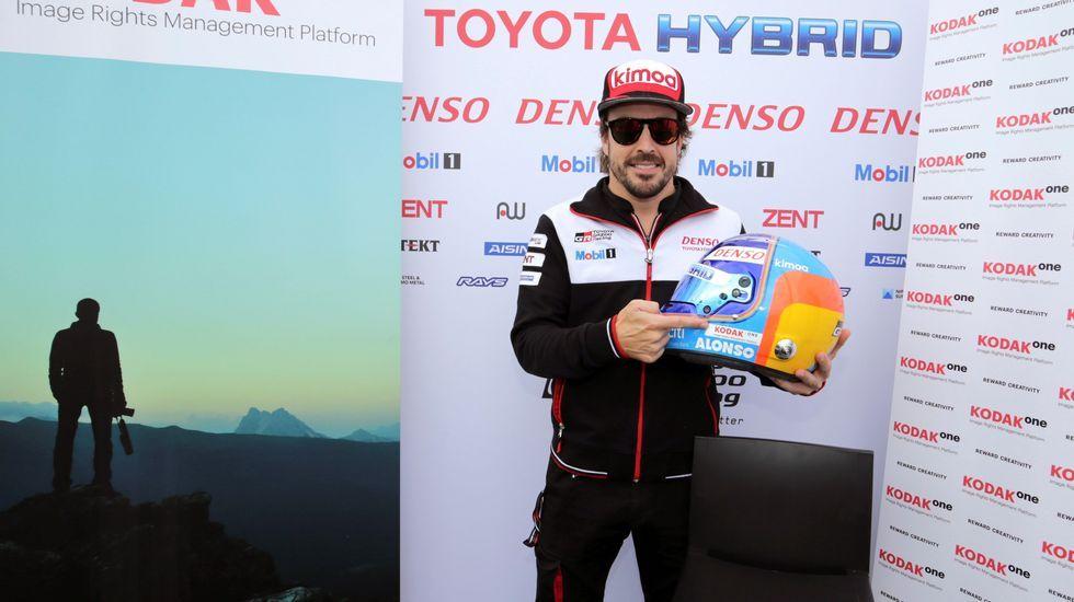 .Fotografía facilitada por Toyota Gazoo Racing, del piloto español Fernando Alonso