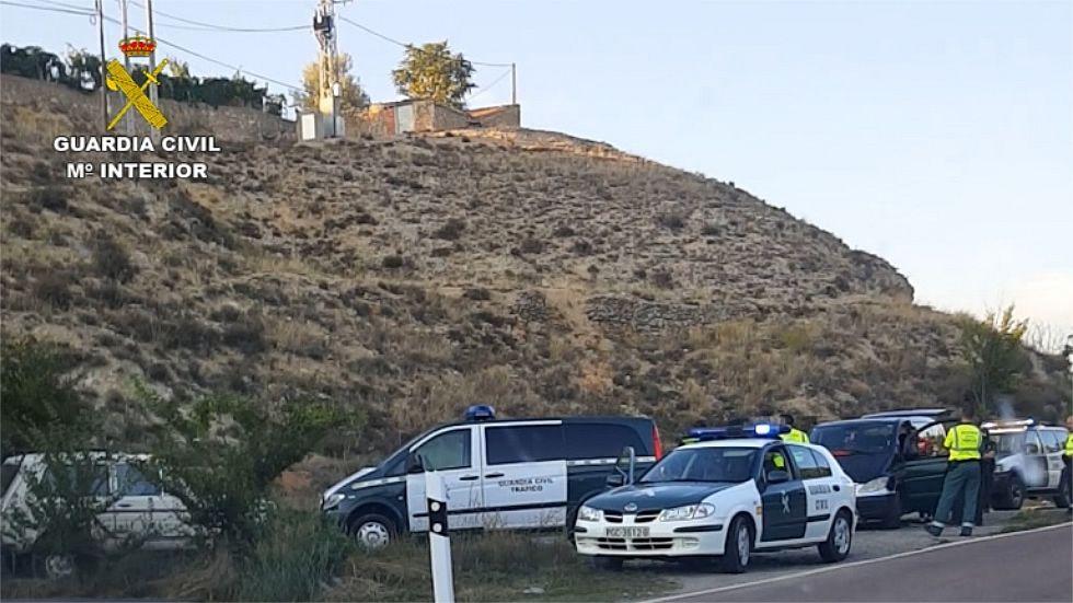 «Fue una verdadera paliza, un linchamiento callejero».Tramo del Camino de Santiago en Roncesvalles