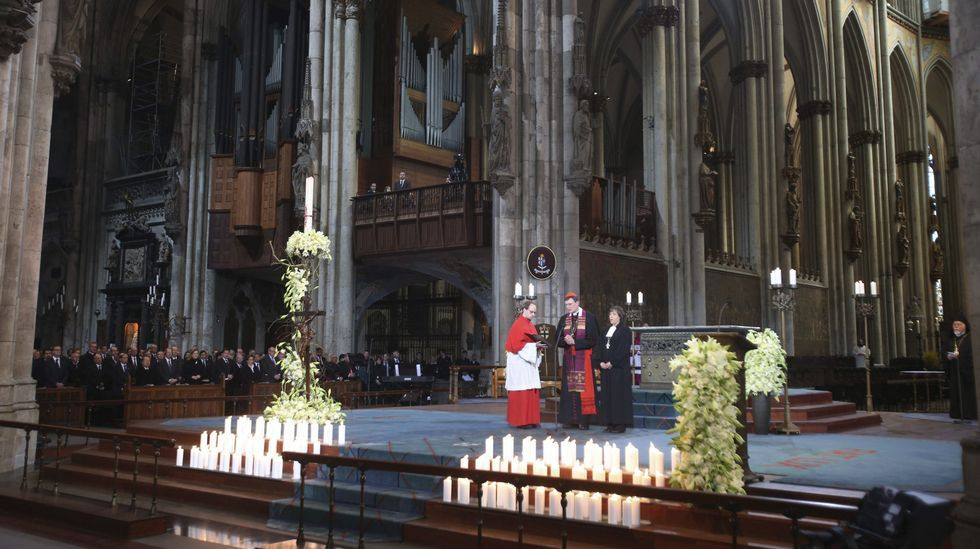 Funeral de Estado por las víctimas del siniestro de Germanwings.Andreas Lubitz, en una carrera en Hamburgo  | OTO-TEAM-MUELLER | EFE