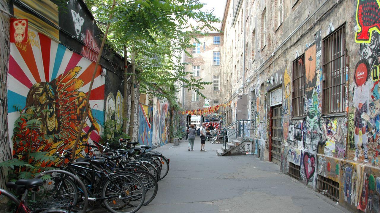 Berlín.Hackescher Markt