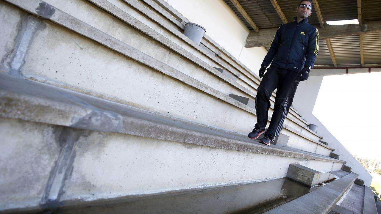 Malas condiciones en las que se encuentran las instalaciones deportivas de a Alta