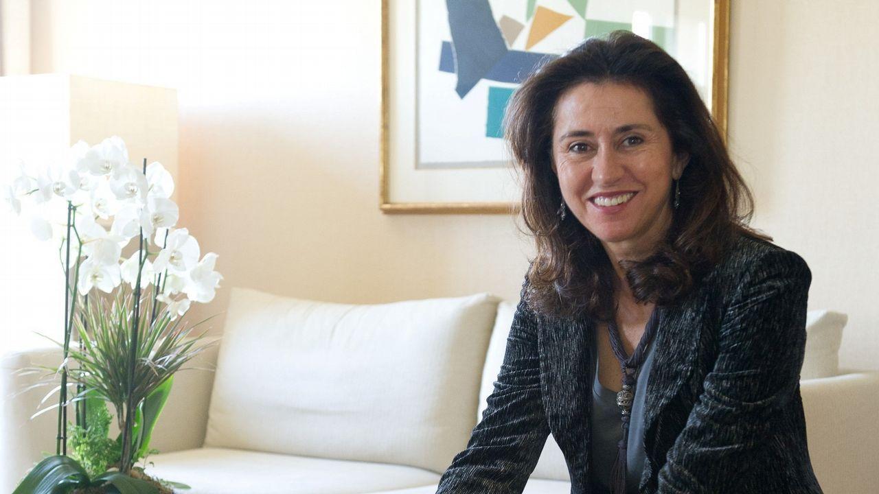 Ángeles Alarcó fue presidenta de Paradores hasta el pasado junio