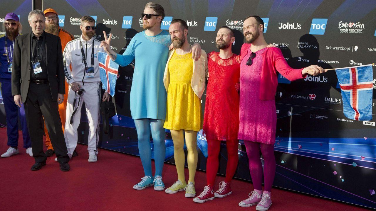 No, Parchís no ha vuelto. Son Pollapönk, los islandeses que actuaron en el 2014 en Eurovisión