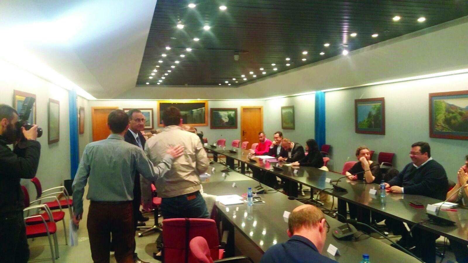 Ayuntamiento de Mieres.Pleno de la Junta General del Principado de Asturias