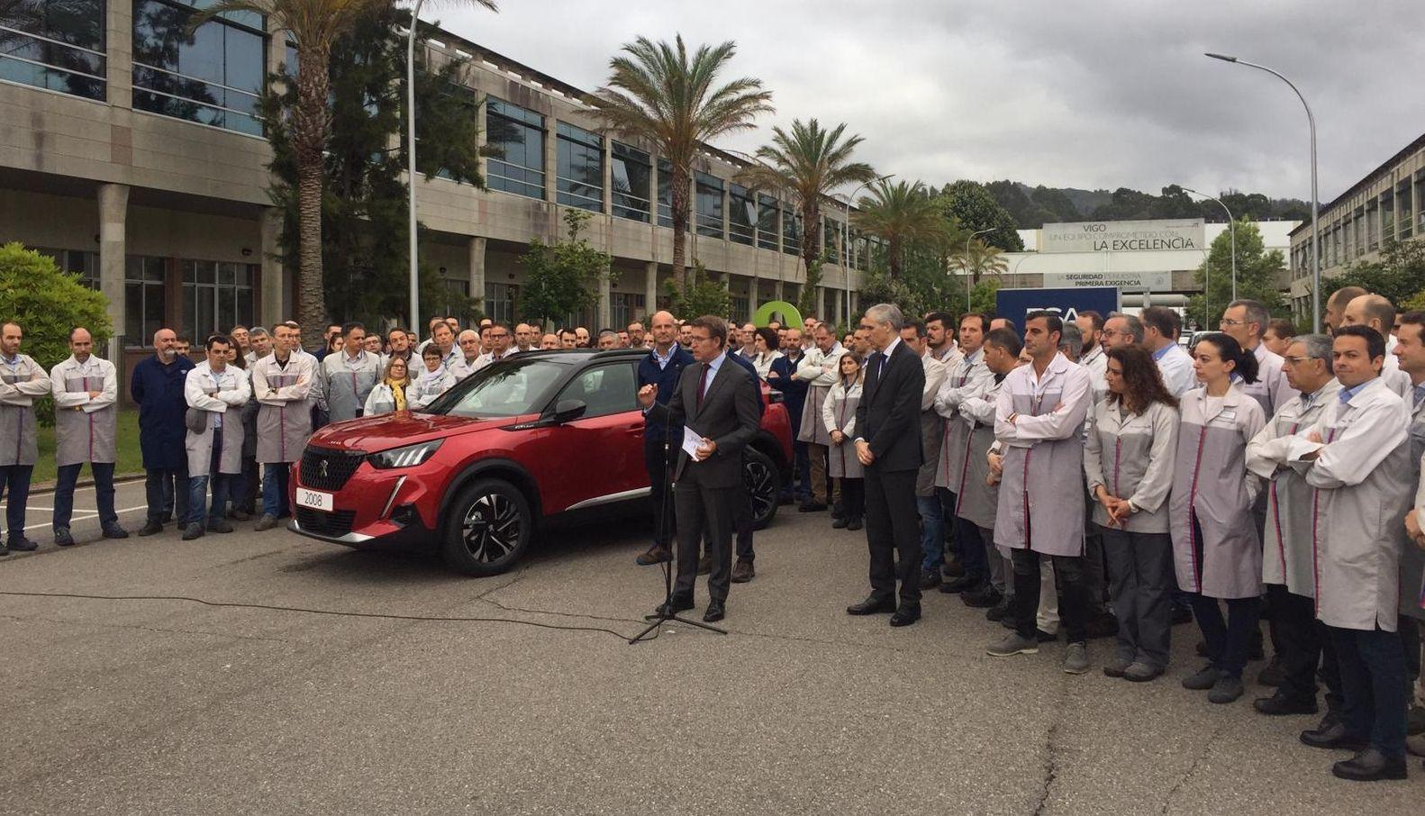 El Peugeot 2008, la nueva estrella de PSA Vigo