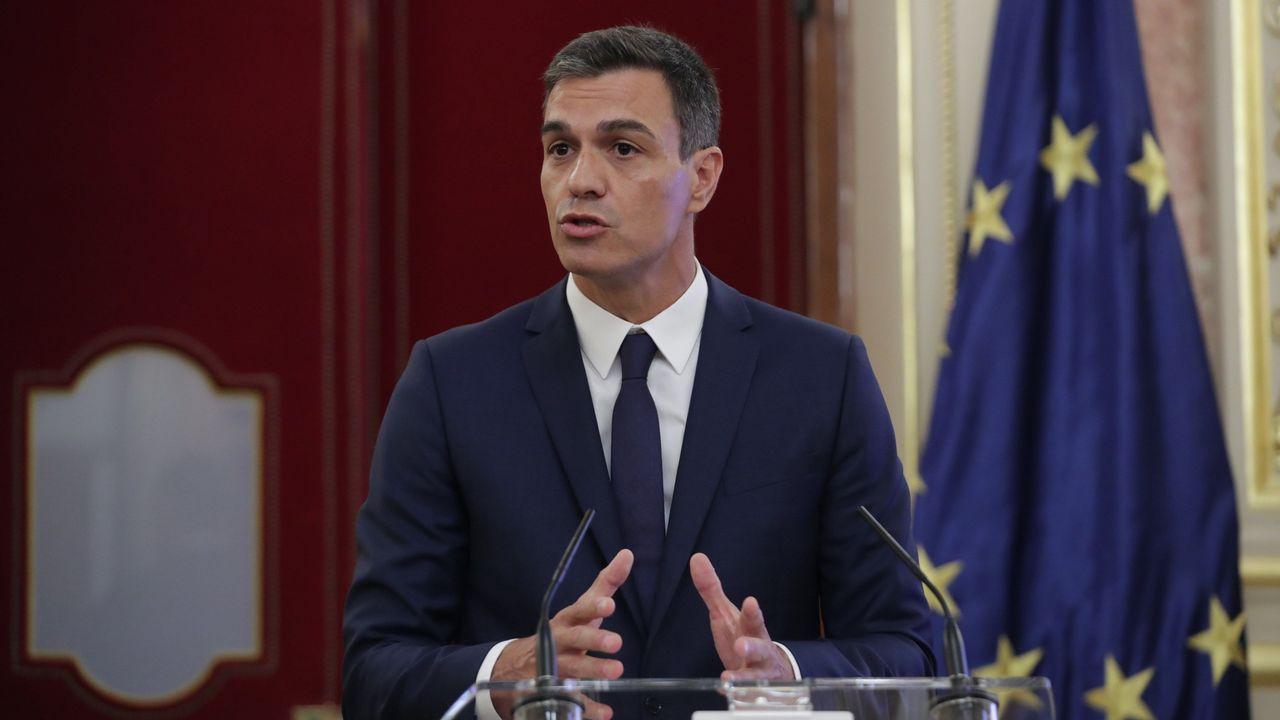 Montón niega cualquier irregularidad en sus estudios de máster.Pedro Sánchez