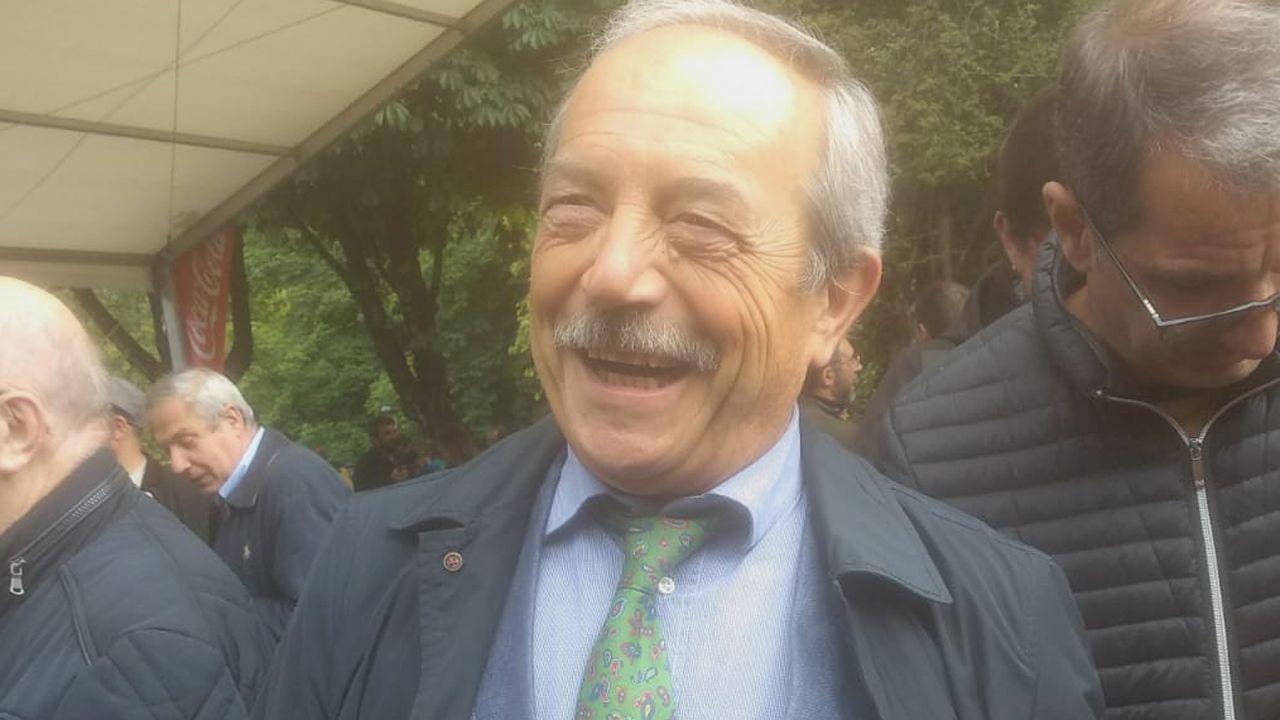 Wenceslao López en el Martes de Campo