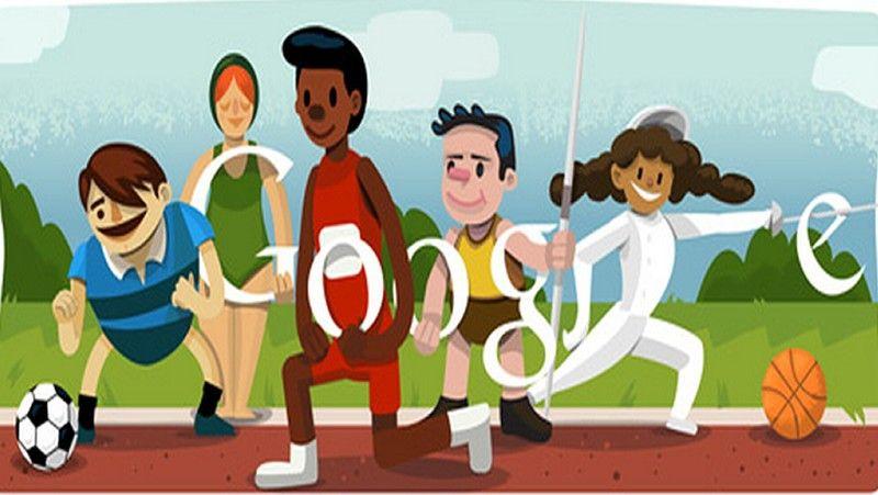 Juegos olímpicos doodle