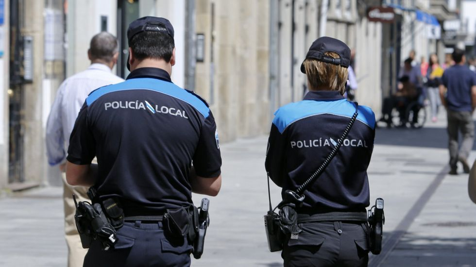Solo dos comunidades tienen menos policías y guardias civiles que Galicia.